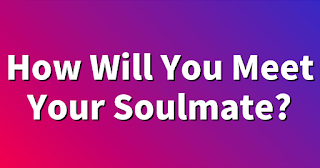 When you found your soulmate