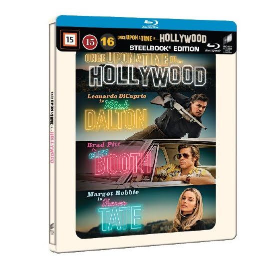 Once Upon a Time in Hollywood - Limited Steelbook (Blu-ray)