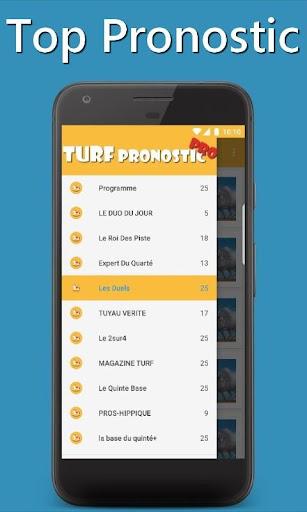 Download Turf Pronostic Pro - Pmu Tiercé, Quarté, Quinté Google Play
