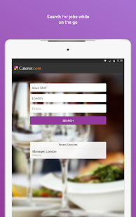 Caterer Job Search- screenshot thumbnail