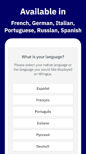 Wlingua - English Language Course screenshot 1