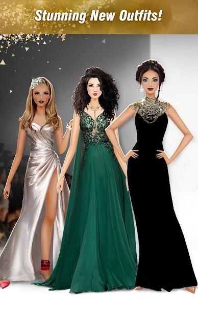 International Fashion Stylist: Model Design Studio Android App Screenshot