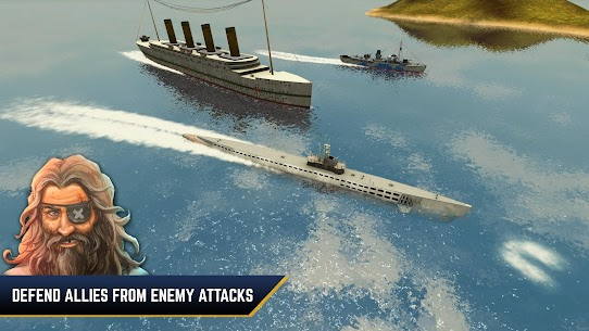 Enemy Waters : Submarine and Warship battles 2