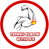 Tennis Elbow with Ice