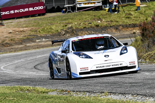 A class had to be created especially for the Nissan Nismo Leaf RC electric racer. Picture: MOTORPRESS