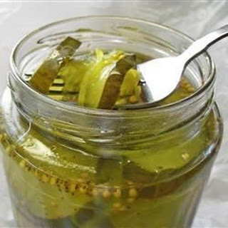 Microwave Bread and Butter Pickles