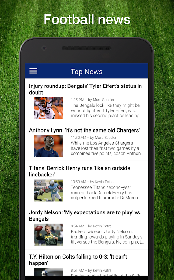 Football Live Scores, Stats & Schedules for NFL - Google Play