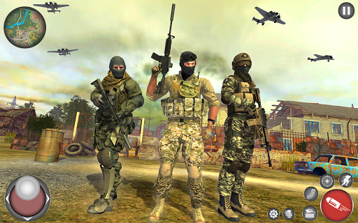 Code Triche Battle Land Call on Duty - FPS Strike OPS Game APK MOD (Astuce) screenshots 4
