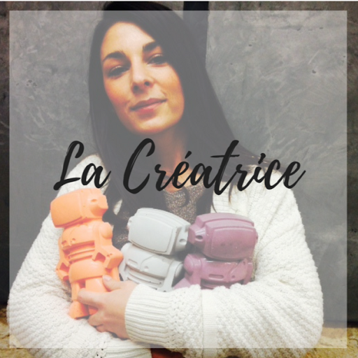 junny créatrice d'objet déco en béton fat-main en atelier made in france