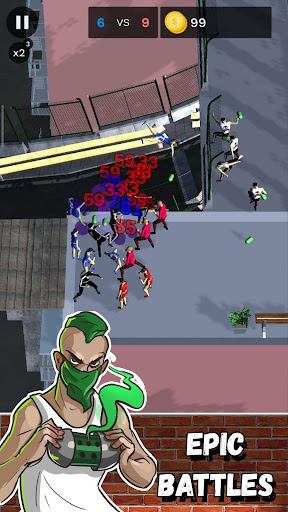 Street Battle Simulator - autobattler offline game apkdebit screenshots 8