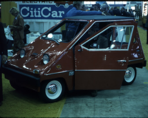 Red CitiCar Electric Vehicle, 1978