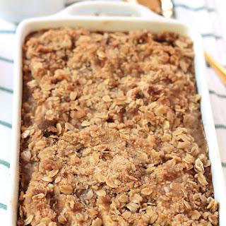 Apple Cinnamon Baked Oatmeal