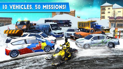 Winter Ski Park: Snow Driver 1.0.1 screenshots 15
