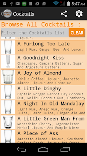 Drinks Guide™ Cocktail Recipes- screenshot thumbnail