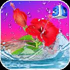 Hibiscus 3D Live Wallpaper icon