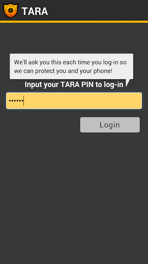 TARA- screenshot