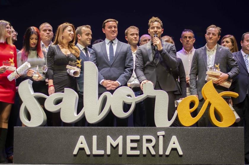 David Bisbal en la gala Sabores Almería