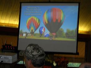 Photo: Candlewood Lake, located in Mt. Gilead, Oh was the host of the 2011 Fall Meeting. Candlewood Lake is home to a few hot air ballon enthusiasts, including the famous Remax Ballon.