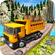 Real Truck Driver Cargo Legends Wood Transporter