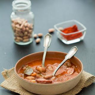 Bean Stew with Kielbasa (Grah sa Kobasicom)