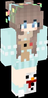Christmas Minecraft Skin Girl.Christmas Girl Nova Skin