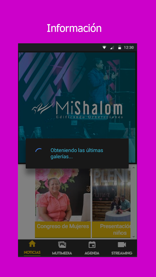 MiShalom- screenshot