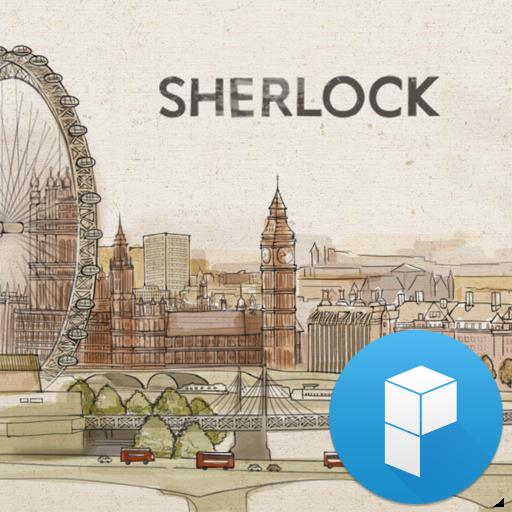 Sherlock Launcher Theme 個人化 LOGO-玩APPs