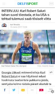 Delfi Sport - náhled