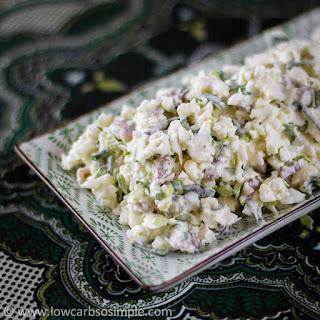 Crunchy & Nutty Cauliflower Salad