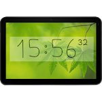 Bézier Clock - live widget Icon