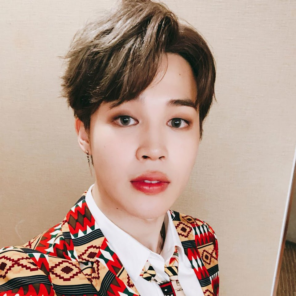 BTS-Jimin-taupe-smoky-eye-look