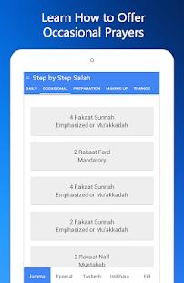 Step By Step Salah - Namaz - screenshot thumbnail