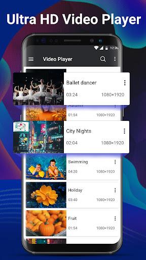Video Player Pro - Full HD & All Formats& 4K Video 1.1.2 screenshots 2