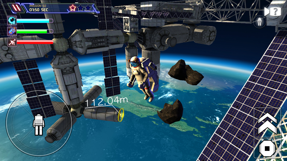 Astronaut Simulator 3d- Space Base Df9