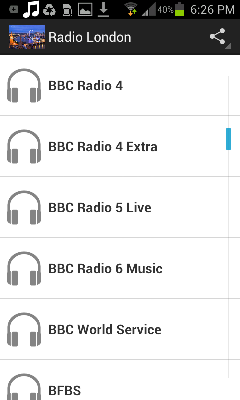 Radio London- screenshot