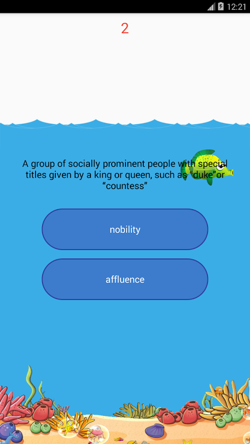 TOEFL Essential Words- screenshot