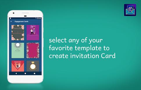 Engagement Invitation Card Maker - náhled