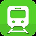 かんたん乗換案内【無料】電車とバスの乗り換え案内 icon