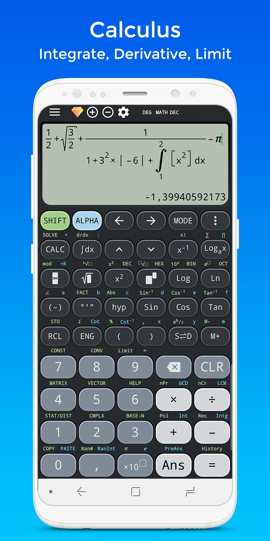 Calculus calculator & Solve for x ti-36 ti-84 Plus Screenshot 3