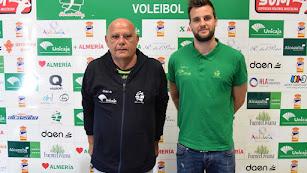 Piero Molducci con Mario Ferrera.