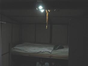 Photo: Osvětlená ložnice.