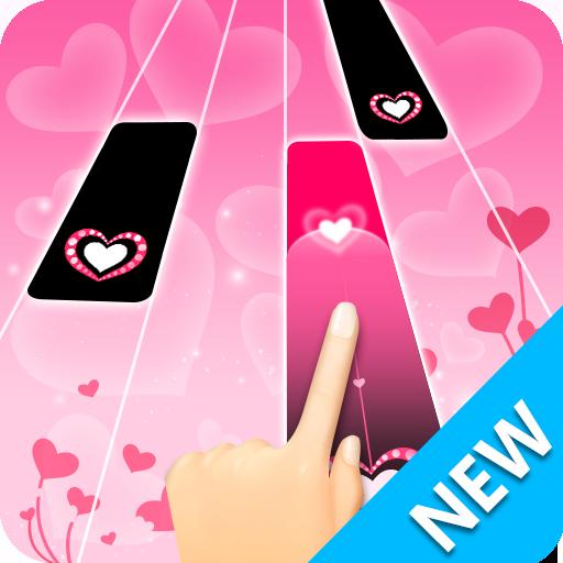 Magic Piano Pink - Music Game 2019 Icon
