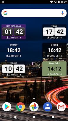 World Clock Widget 2020 Proのおすすめ画像2