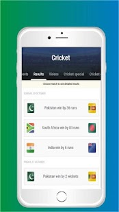 Cricket TV - Live  matches, Scores, News and more - náhled