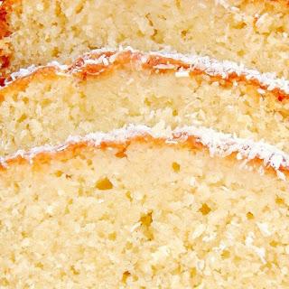 Drud's Easy Coconut Pound Cake.