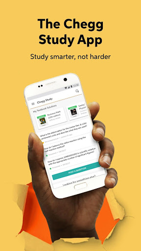 Chegg Study - Homework Help 5.22.6 screenshots 1