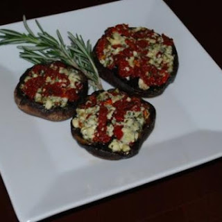 Gorgonzola & Sun Dried Tomato Portobello Mushrooms