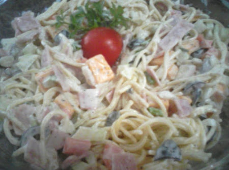 Pasta salad with Ranch dressing Recipe