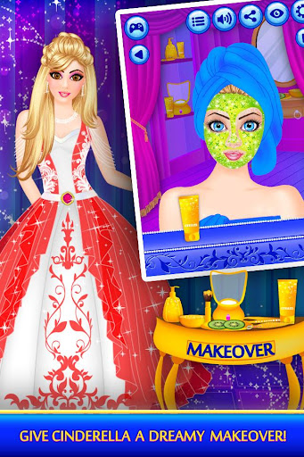 Cinderella Beauty Makeover : Princess Salon Apk 2