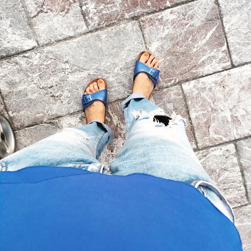 Passi blu!  di camillatartaria